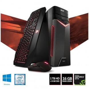 CPU ACER GX-783-7660 I7-7700 16GB/HD1TB/PV 6GB/W10