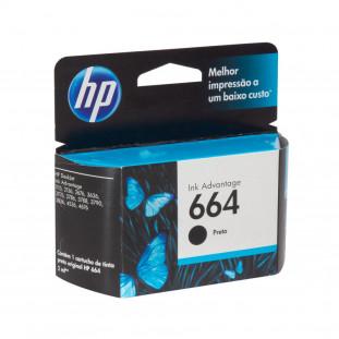 CARTUCHO HP 664 - PRETO F6V29AB - 2ML
