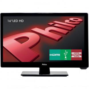 """MONITOR TV PHILCO """"16"""" LCD HD PH16D10D HDMI PT"""