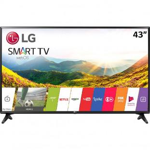 """TV LED LG FULL HD 43"""" SMART LJ5500 PRETO"""