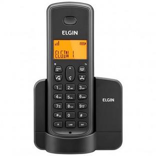 TELEFONE S/FIO ELGIN C/VIVA VOZ TSF-8001 PRETO