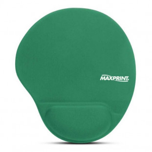 MOUSE PAD MAXPRINT APOIO GEL VERDE 60449-9
