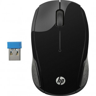 MOUSE HP USB S/FIO 200 PRETO