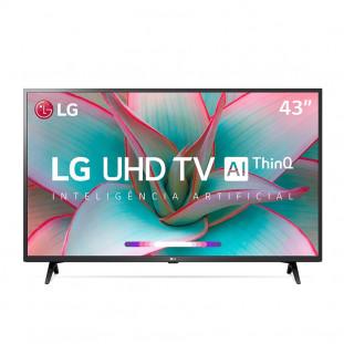 """TV LED LG UHD 4K """"43"""" SMART 43UN7300 BTPRETA"""