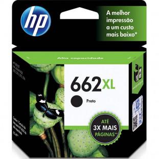 CARTUCHO HP 662XL - PRETO CZ105AB - 6,5ML