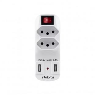 ADAPTADOR CARREGADOR USB INTELBRAS EAC 1002 BR
