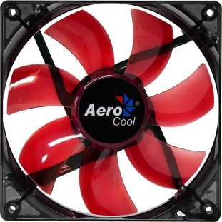 COOLER AEROCOOL FAN 14CM LIGHTINING VERMELHO