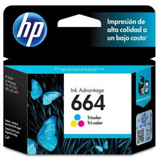 CARTUCHO HP 664 - COLOR F6V28AB - 2ML