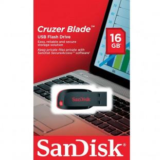 PEN DRIVE 16GB SANDISK 2.0 CRUZER BLADE