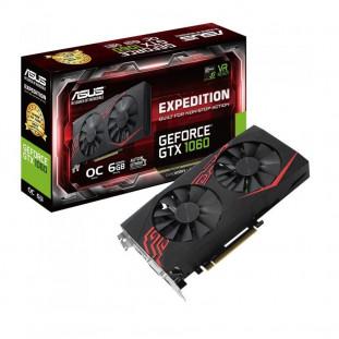 PLACA DE VIDEO PCI-EX ASUS NVIDIA GEFORCE GTX1060 6GB DDR5