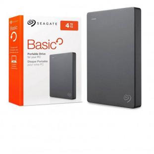 HD EXT.4TB SEAGATE BASIC STJL4000400 PRATA