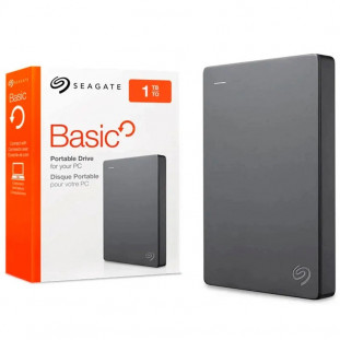 HD EXT.1TB SEAGATE BASIC STJL1000400 PRATA
