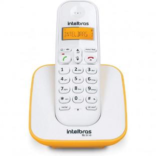 TELEFONE S/FIO DIGITAL INTELBRAS TS3110 BR/AMARELO