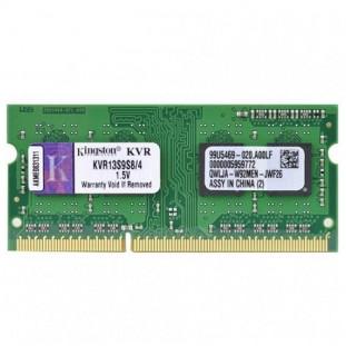 MEMORIA PARA NOTEBOOK 4GB DDR3/1333MHZ - PC3 10600 KINGSTON