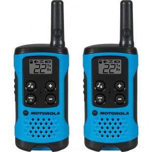 RADIO COMUNIC. MOTOROLA TALKABOUT T100BR 25KM AZUL