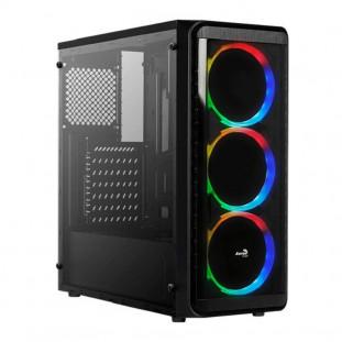 GABINETE AEROCOOL ATX SI-5200 RGB WINDOW PRETO