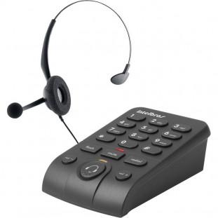 TELEFONE C/FONE INTELBRAS HEADSET HSB50 PRETO