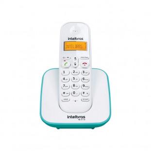 TELEFONE S/FIO DIGITAL INTELBRAS TS3110 BR/AZUL CLARO