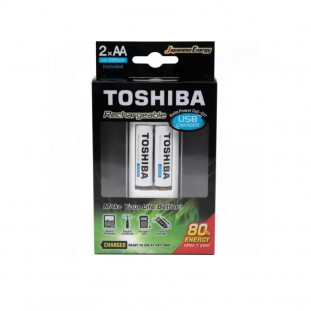 CARREG.TOSHIBA USB AA/AAA +C/2PILHAS TNHC-6GME2 CB