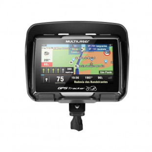 "GPS MULTILASER TRACKER PARA MOTO ""4.3"" GP022"