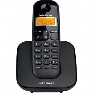 TELELFONE S/FIO DIGITAL INTELBRAS TS3110 PRETO