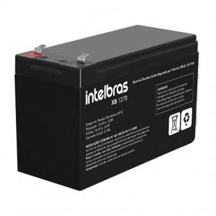 BATERIA P/NOBREAK INTELBRAS VRLA 12V 7,0AH XB 1270